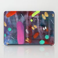 confetti iPad Cases featuring Confetti by Ink and Paint Studio
