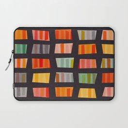 BEACH TOWELS ON BASALT Laptop Sleeve