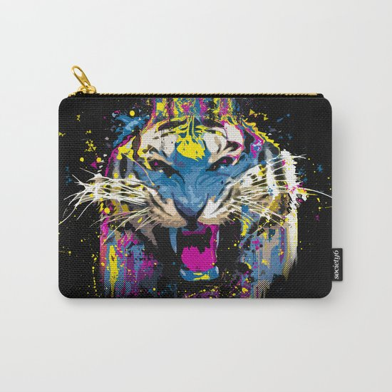 Inked Tiger Carry-All Pouch