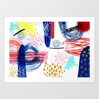 Element Painting Art Print