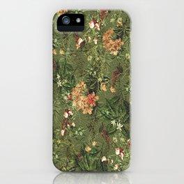 Her Secret Garden iPhone Case