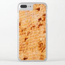 Wall II Clear iPhone Case