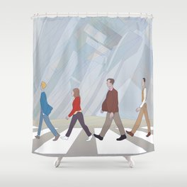 Inception Road Shower Curtain