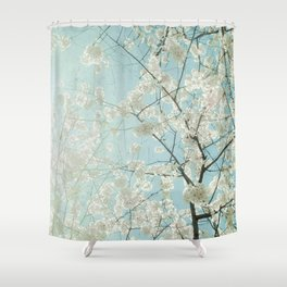 The Lightness of Being Shower Curtain