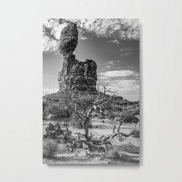 Arches National Park Balanced Rock Print Metal Print