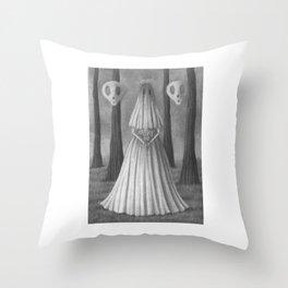 Tiny Tales Throw Pillow