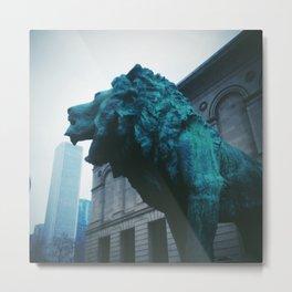 The Art Institute of Chicago Metal Print