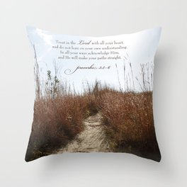 Your Path Throw Pillow