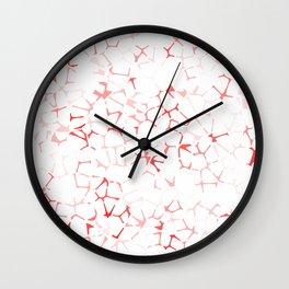 VVero Red Wall Clock