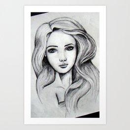 Ella Portrait Art Print