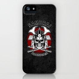 Bushido Samurai Skull iPhone Case