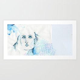 Ocean Lady Art Print