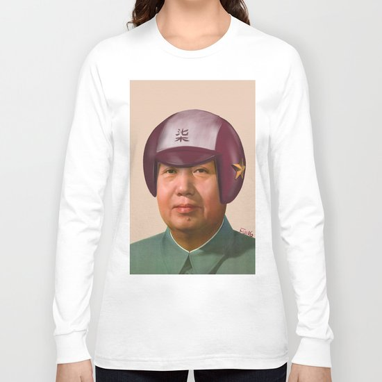 Helmet Mao Long Sleeve T-shirt