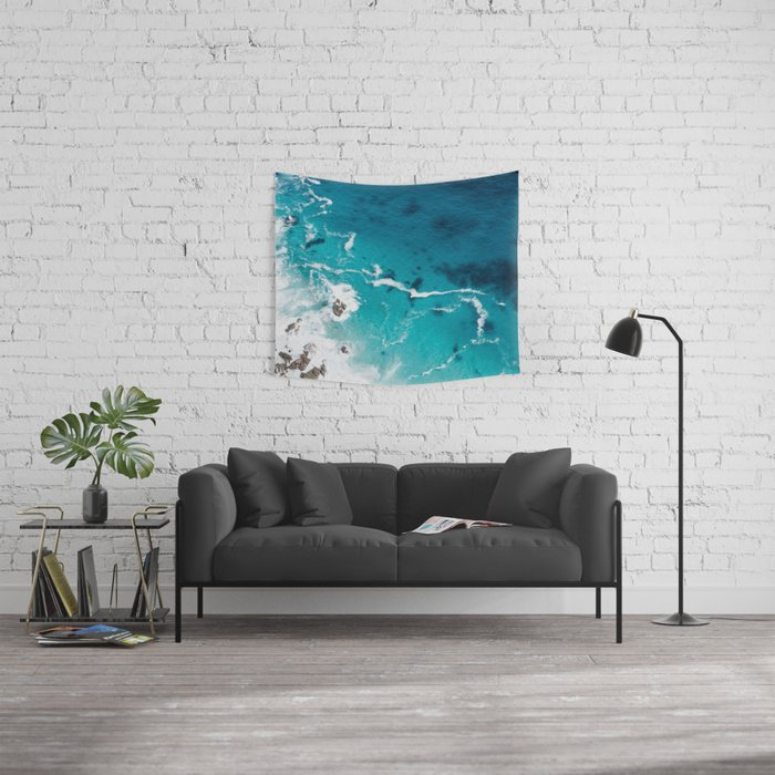 Sea 4 Wall Tapestry