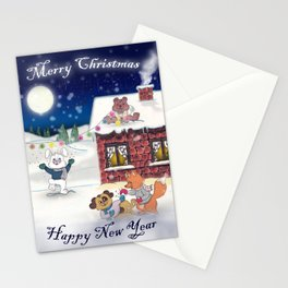 The happy Xmas'Group Stationery Cards