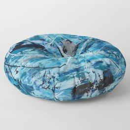 Sea motion Floor Pillow