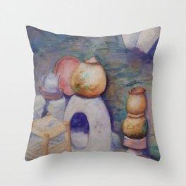 Berber Kitchen WC170413a-11 Throw Pillow