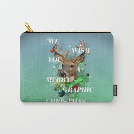 Merry Graphic christmas Carry-All Pouch