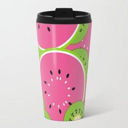 Kiwi and watermelon Travel Mug