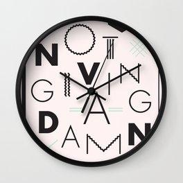 Avant-Garde Wall Clock