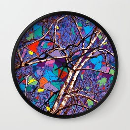 Sycamore Cathedral Wall Clock
