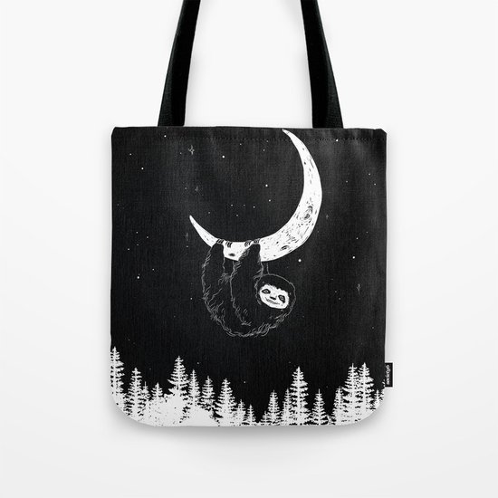 Goodnight Sloth Tote Bag