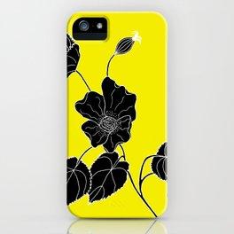 Desert Lantern - Abutilon leucopetalum iPhone Case