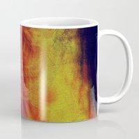 desert Mugs featuring desert by donphil