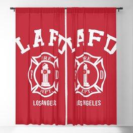 LA Firefighters Blackout Curtain