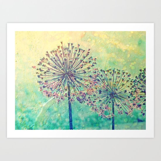 Feuerwerk Art Print
