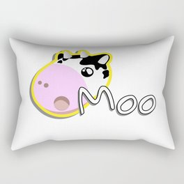 Cow Moo Cows Cartoon Rectangular Pillow