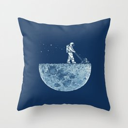 Mown Throw Pillow