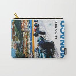 Gran Prix de Monaco, 1966, original vintage poster Carry-All Pouch