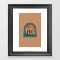 BullEagle Music Framed Art Print