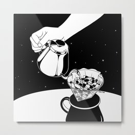 Drip to Dream Metal Print