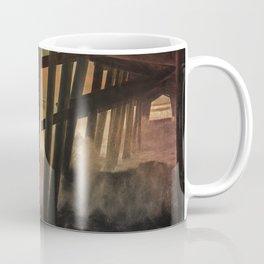 Storm Under The Pier Coffee Mug