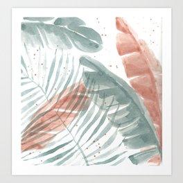 Palm Party III Art Print
