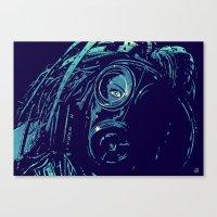 cyberpunk Canvas Prints featuring CyberPunk by Giuseppe Cristiano