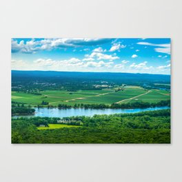 A View from the Top Canvas Print