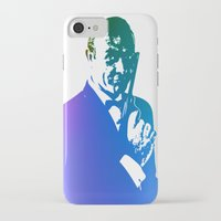 james bond iPhone & iPod Cases featuring James Bond - True Blue by D77 The DigArtisT