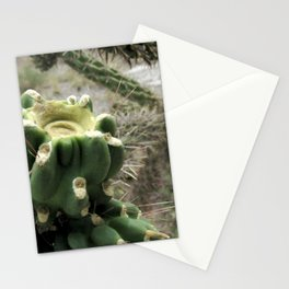 Cacti in the Petrified Forest, Arizona Stationery Cards