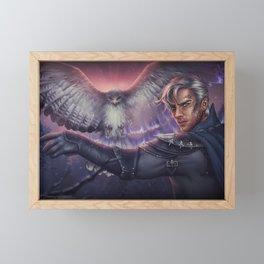 Hawk Framed Mini Art Print