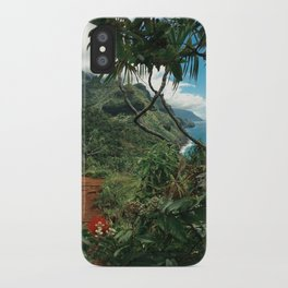 Kalalau Kauai iPhone Case