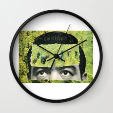 Cultivate Your Mind Wall Clock