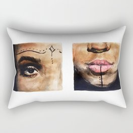 FKA Twigs Rectangular Pillow