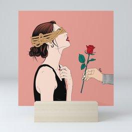 Blind Love Mini Art Print