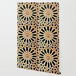 Azulejo de La Alhambra Wallpaper