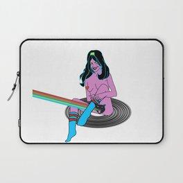Record Girl Laptop Sleeve