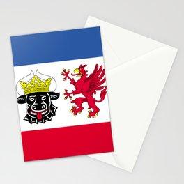 Flag of Mecklenburg-Vorpommern (Mecklenburg-West Pomerania) Stationery Cards