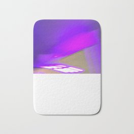Electro Purple Jesus Bath Mat
